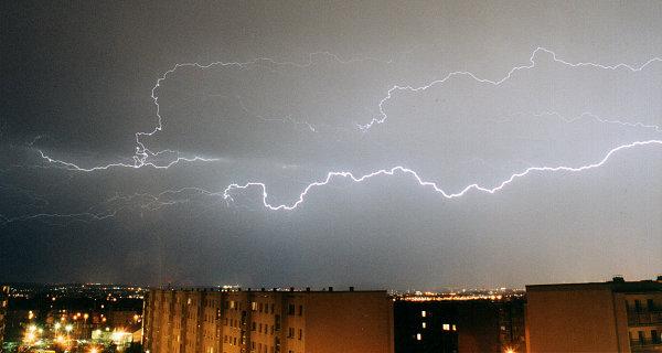 snelheid donder bliksem