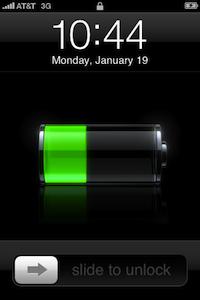 ipod batterij