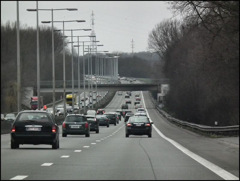 snelweg a10 e40 Belgie