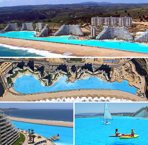 grootste zwembad ter wereld 1000 meter